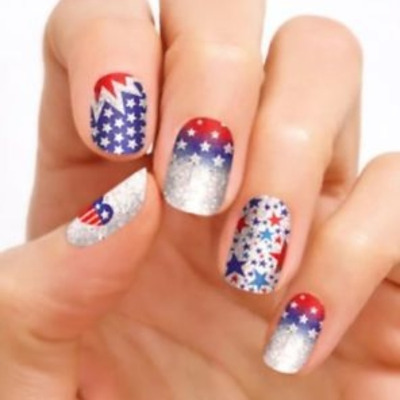 Color Street Other - Color Street Liberty Land Nail Polish Strips